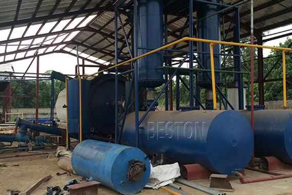 Tire Pyrolysis Machine For Sale