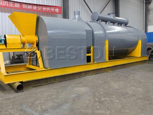 Beston Sawdust Charcoal Making Machine