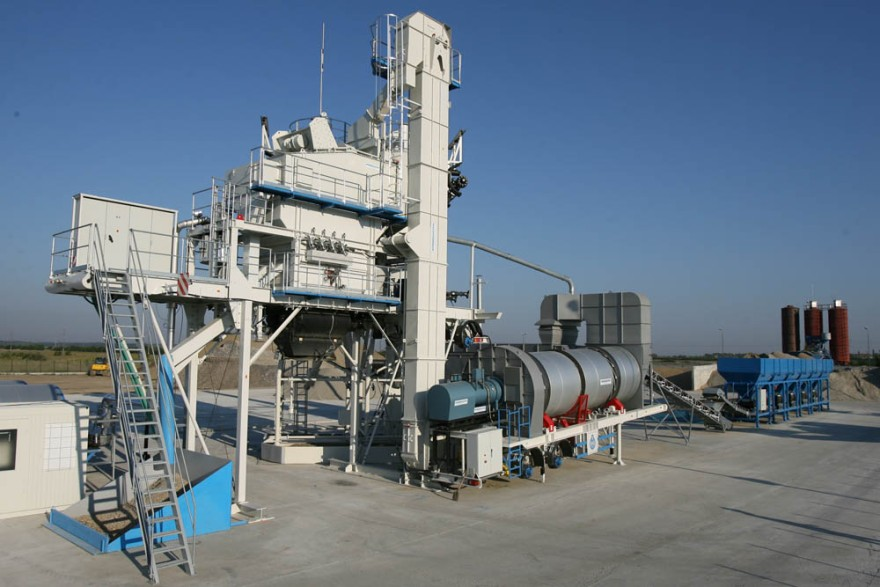 asphalt hot mix plant with large capacity