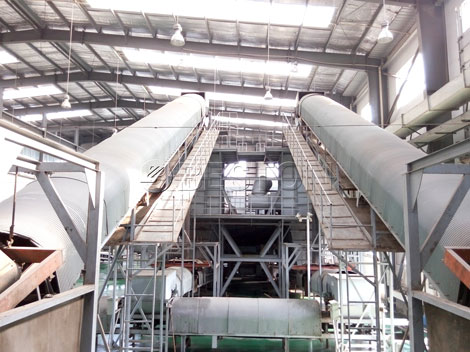 Solid Waste Processing Plant