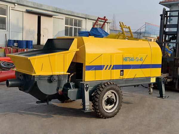 HBTS series mobile concrete pump