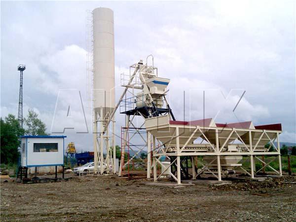 мини бетонные заводы