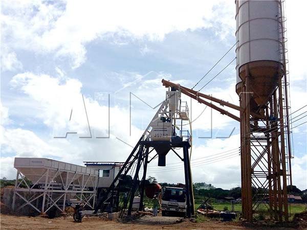 мини завод для производства бетона